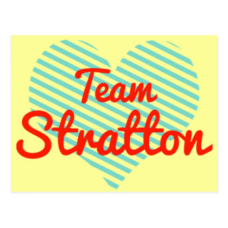 Team Stratton Postcard