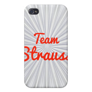 Team Strauss iPhone 4/4S Cover