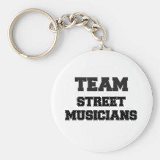 Team Street Musicians Keychains