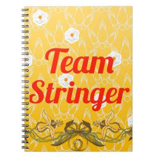 Team Stringer Spiral Notebook