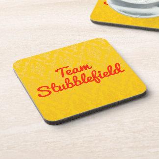 Team Stubblefield Drink Coaster