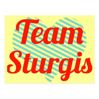 Team Sturgis Postcards