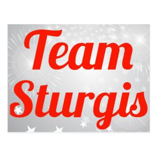 Team Sturgis Post Card