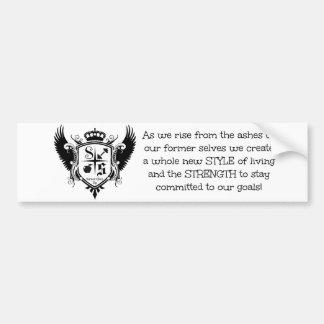 Team Style & Strength Bumper Sticker