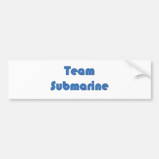 Team Submarine Bumper Sticker