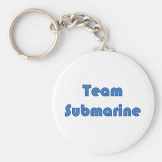 Team Submarine Keychain
