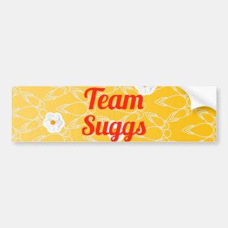Team Suggs Car Bumper Sticker