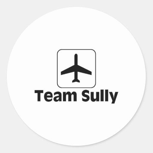 Team Sully Classic Round Sticker