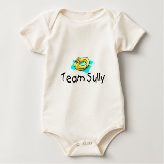 Team Sully Duck Baby Bodysuit