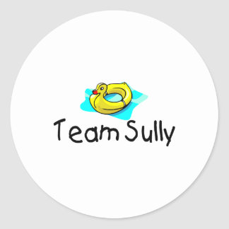 Team Sully Duck Classic Round Sticker