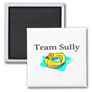 Team Sully (Duck) - Customized 2 Inch Square Magnet