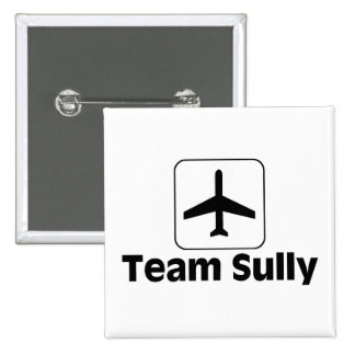 Team Sully Pinback Button