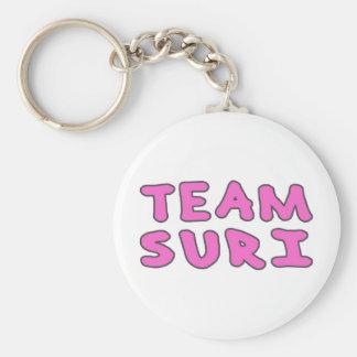 Team Suri (Kids Print) Basic Round Button Keychain