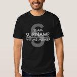 TEAM (Surname) Lifetime Member Tee Shirts