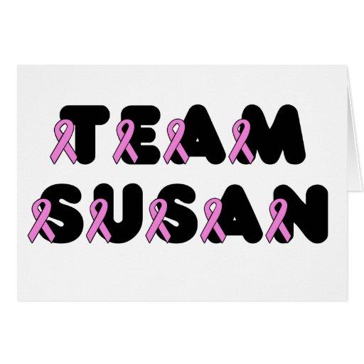 Team Susan Card