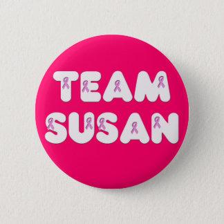 Team Susan Pinback Button