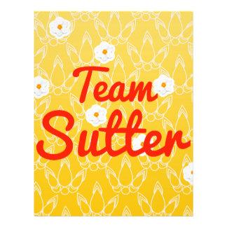 Team Sutter Flyer