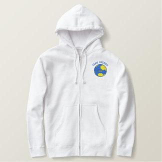TEAM SVERIGE Swedish Sports Embroidered Hoodie