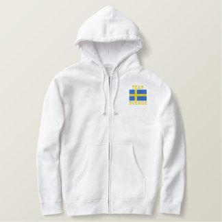 Team Sverige Swedish Sports in Sweden Embroidered Hoodie