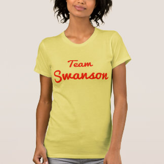 Team Swanson T Shirts