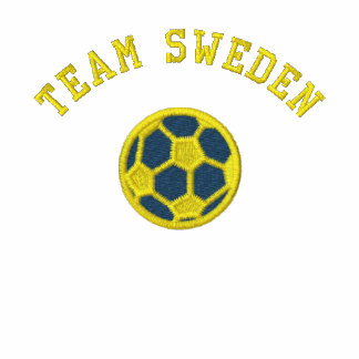TEAM Sweden Swedish Sports Embroidered Sweatshirts