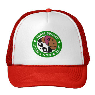 Team SWHAT Panda and Patchie Trucker Hat
