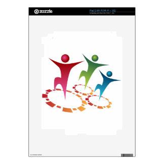 Team Synergy Icon iPad 2 Skin