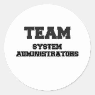 Team System Administrators Sticker