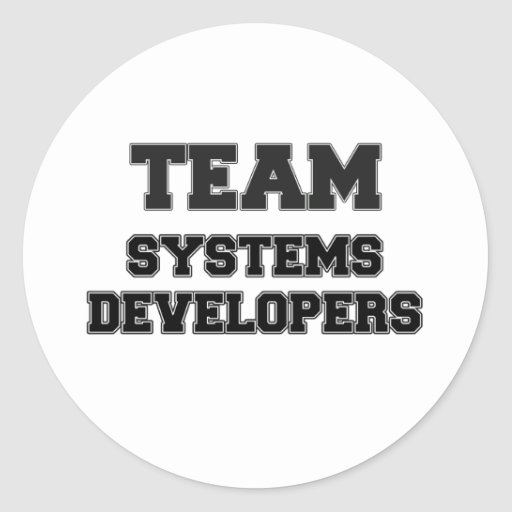 Team Systems Developers Sticker