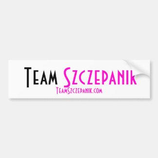Team Szczepanik Bumper Sticker Car Bumper Sticker