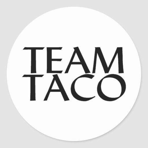 Team Taco Sticker