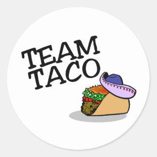 Team Taco Taco Sticker