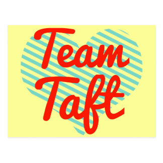 Team Taft Postcard