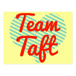 Team Taft Postcard