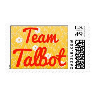 Team Talbot Postage Stamps