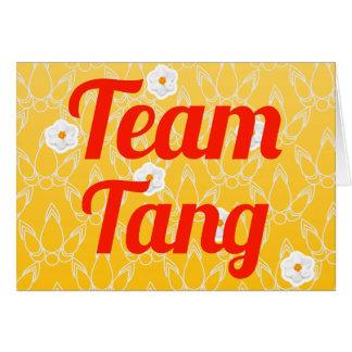 Team Tang Greeting Card