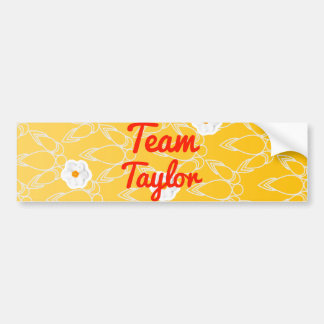 Team Taylor Bumper Stickers
