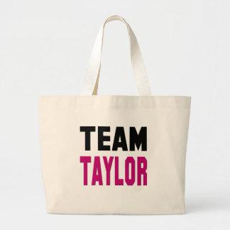 Team Taylor Large Tote Bag