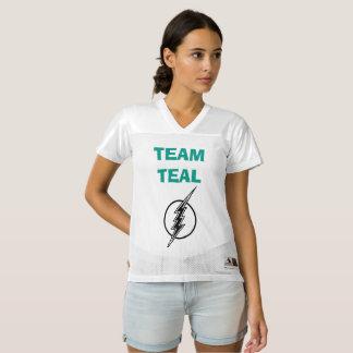 Team Teal, Trigeminal Neuralgia Jersey