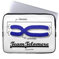Team Telomere (Biology Humor) Computer Sleeve