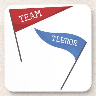 Team Terror Beverage Coaster
