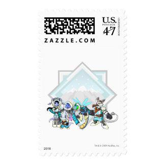Team Terror Mountain Group Postage Stamp