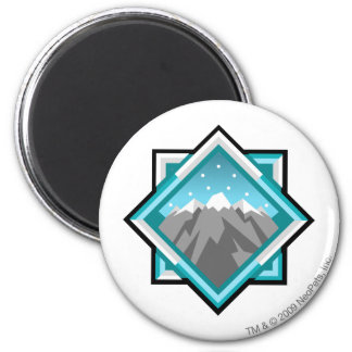 Team Terror Mountain Logo 2 Inch Round Magnet