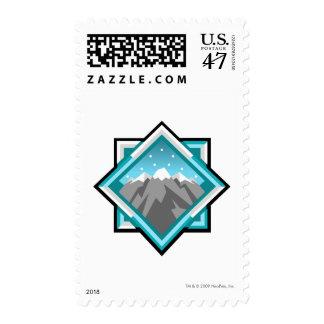 Team Terror Mountain Logo Postage Stamp