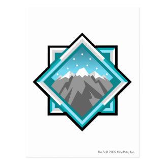 Team Terror Mountain Logo Postcard