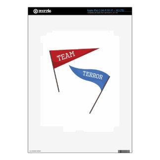 Team Terror Decal For iPad 3