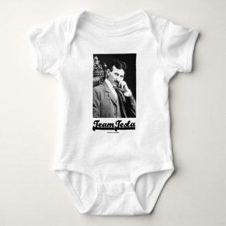 Team Tesla (Nikola Tesla) Baby Bodysuit
