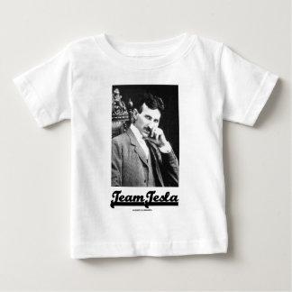 Team Tesla (Nikola Tesla) Baby T-Shirt