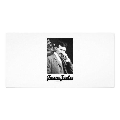 Team Tesla (Nikola Tesla) Photo Card