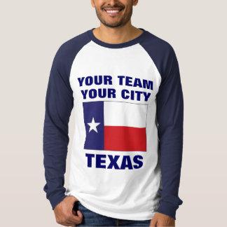 Team Texas State Flag Raglan T-shirt